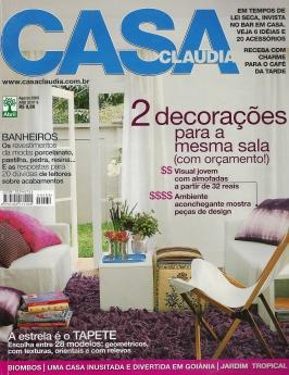 Casa Cláudia Agosto | 2008 Página 1